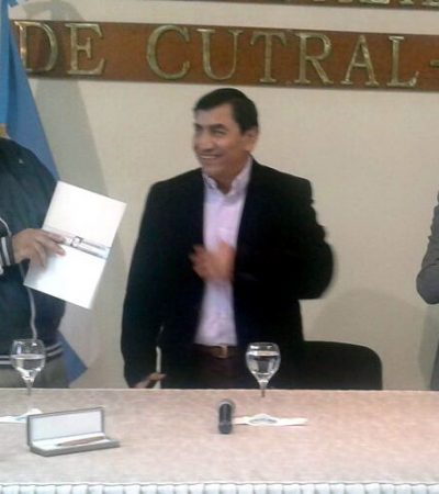 Alianza recibió aporte de Cutral Co