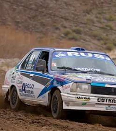 62 autos en el Rally de Cutral Co