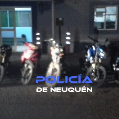 Secuestraron 8 motos