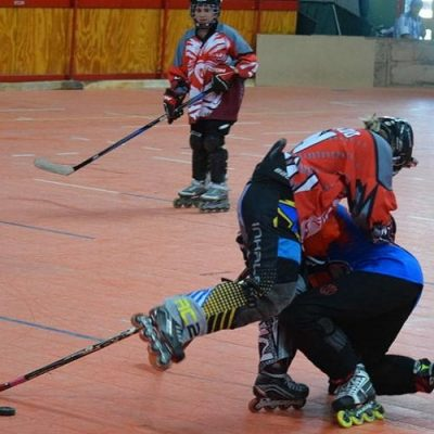 Local en el Patagónico de Roller Hockey