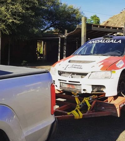 Nicolás Angeloni animará el Rally en Cutral Co