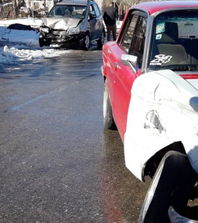 Importantes daños materiales por accidente relacionado a la nieve
