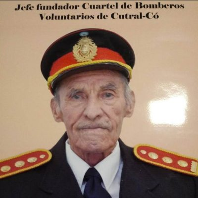 Falleció el fundador de Bomberos de Cutral Co