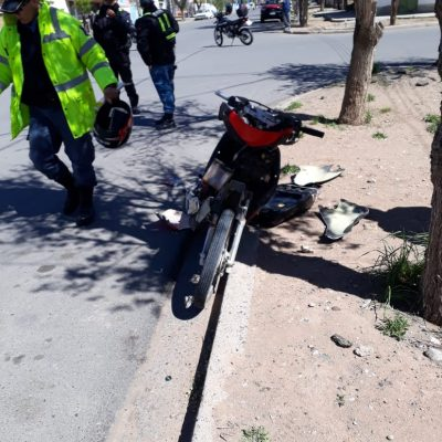 Dos mujeres al hospital por accidente vial