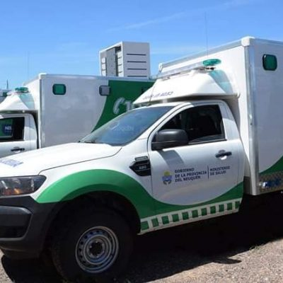 Nueva ambulancia para el hospital de Cutral Co