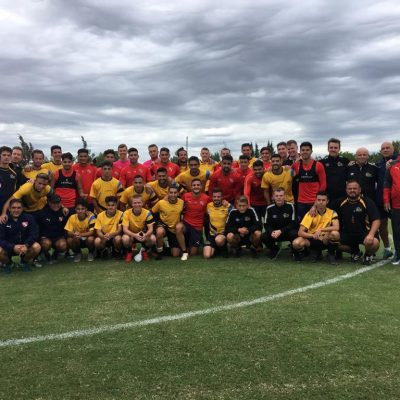 El Tigers jugó con Independiente