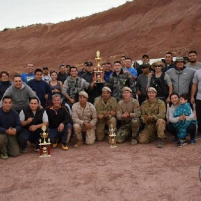La DSI Cutral Co ganó el torneo de Paintball