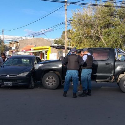 Accidente en el Centro de Cutral Co